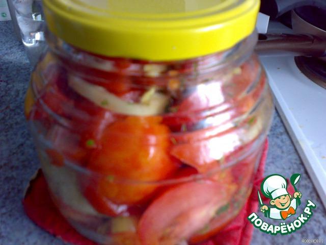 """""""Живые помидоры"""" на зиму"""