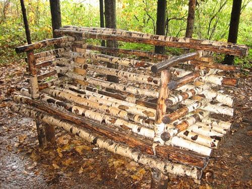 Декор садового участка 18