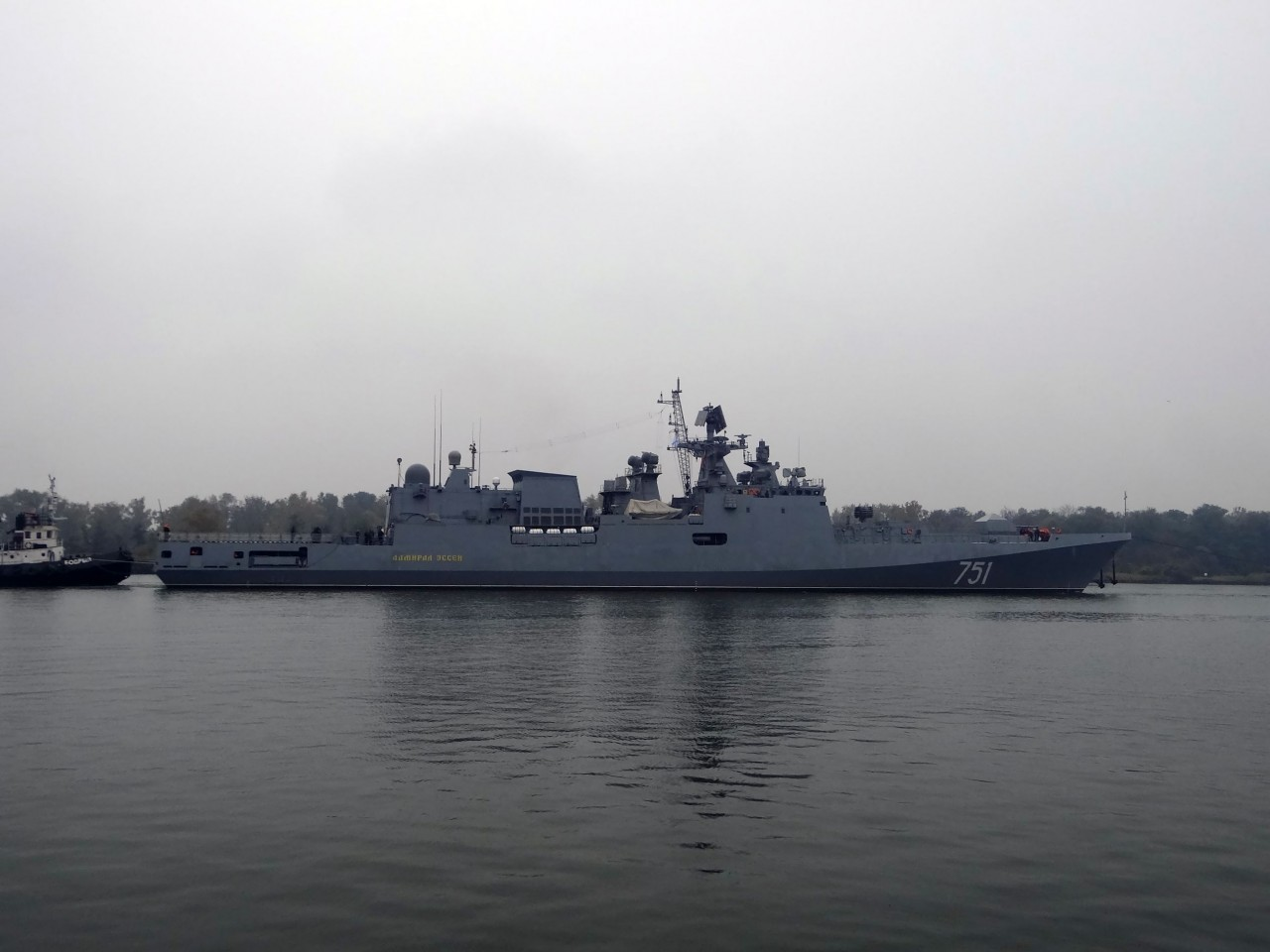 Фрегат «Адмирал Эссен» направился в Черное море