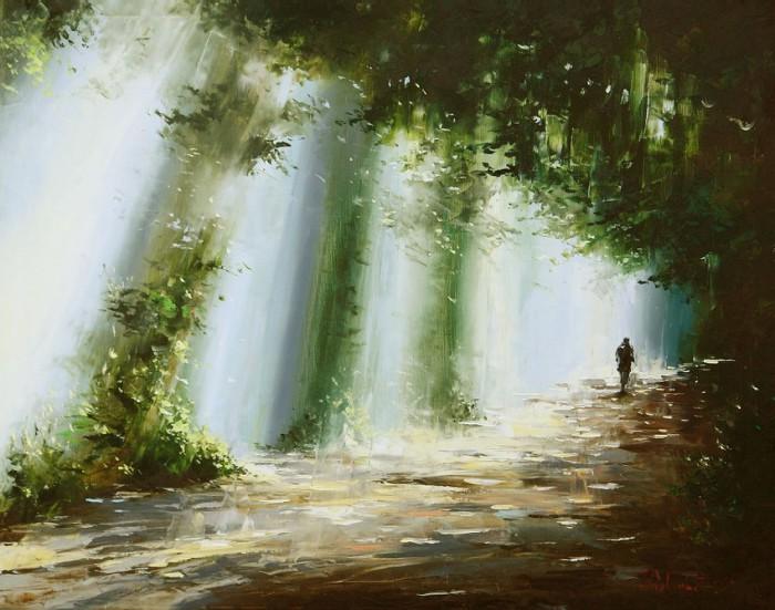пейзажи и натюрморты Gleb Goloubetski - 06