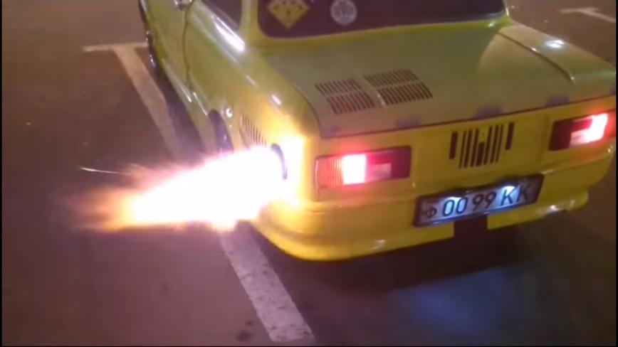 Такой ЗАЗ-968М без проблем даст отпор любой иномарке!