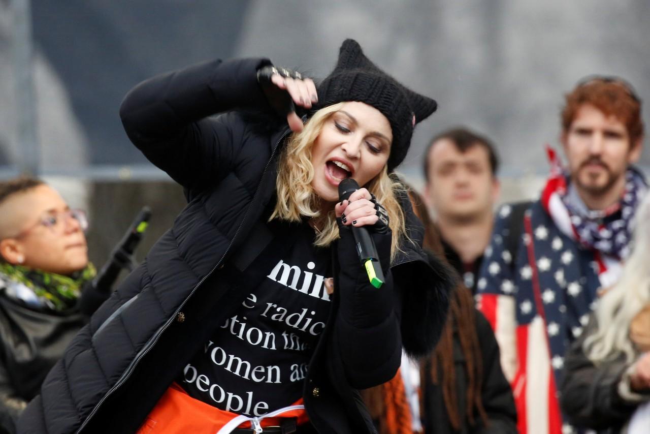 Мадонну посадят за терроризм
