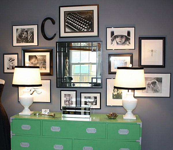monogrammed-family-wall-of-photos