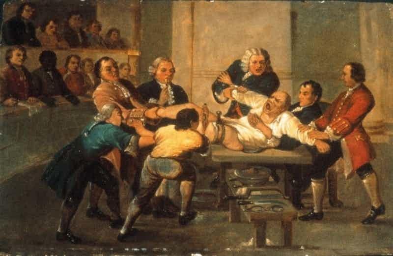 Заикание: вырезаем часть языка медицина прошлого, медицинские истории