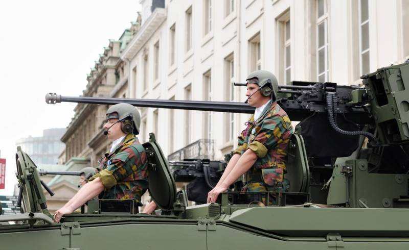 НАТО в Эстонии будет учить бельгийцев воевать