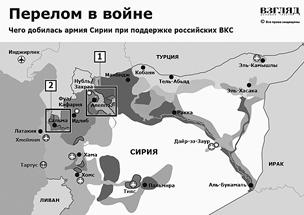 Чего добилась армия Сирии при поддержке российских ВКС (инфографика)