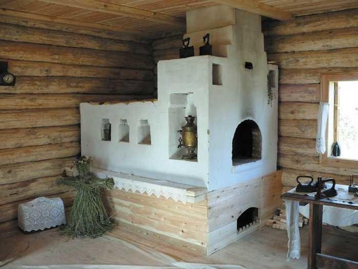 Как делали теплый пол в старой России