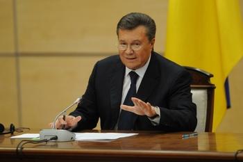 Янукович выступил за проведение референдума о статусе Донбасса