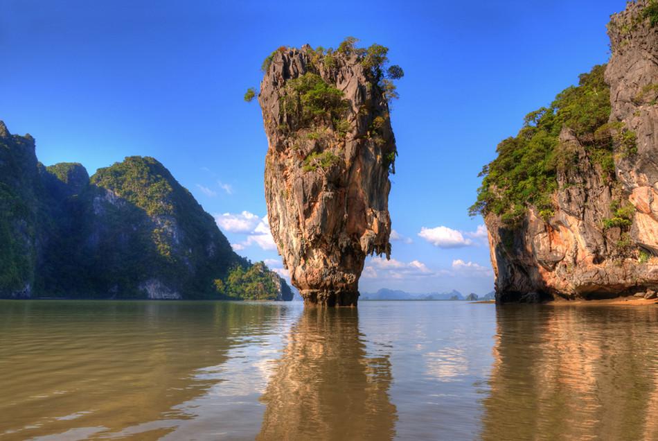 Скала на острове Ко Тапу, Таиланд геология, история с географией, красота, скалы