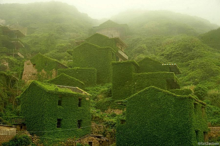 «Зеленая» деревня рыбаков в Китае — гармония человека с природой