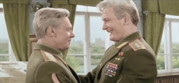 """За кадром фильма """"Офицеры"""" СССР, как снимали фильм, кино"""