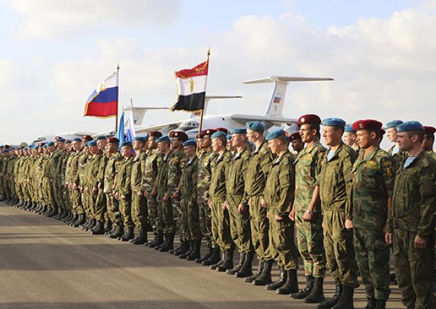 Российский спецназ развернут на границе Египта и Ливии