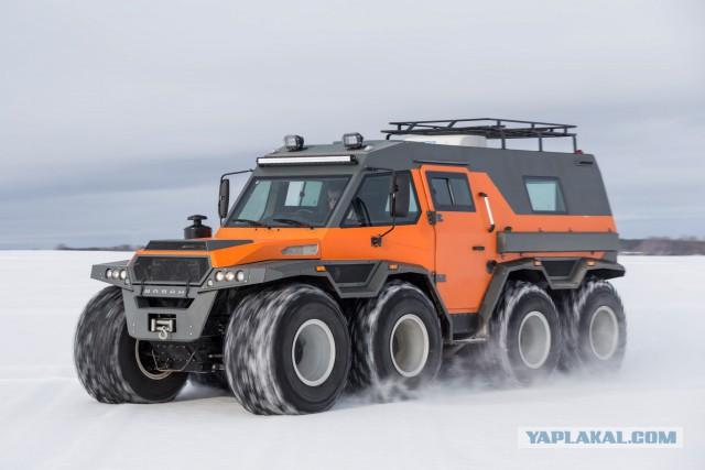 Российский вездеход ШАМАН Космический корабль среди вездеходов!