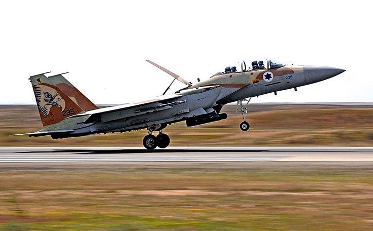 ВВС Израиля уничтожили сирийские ЗРК «Бук» под Дамаском