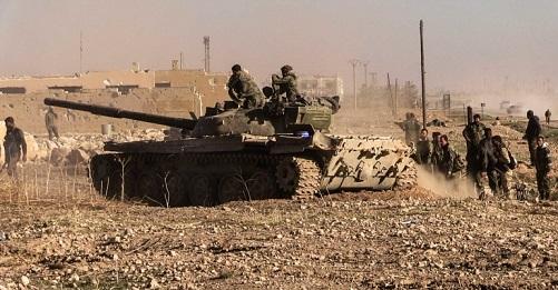 Сирийская армия развивает наступление насевере провинции Хама