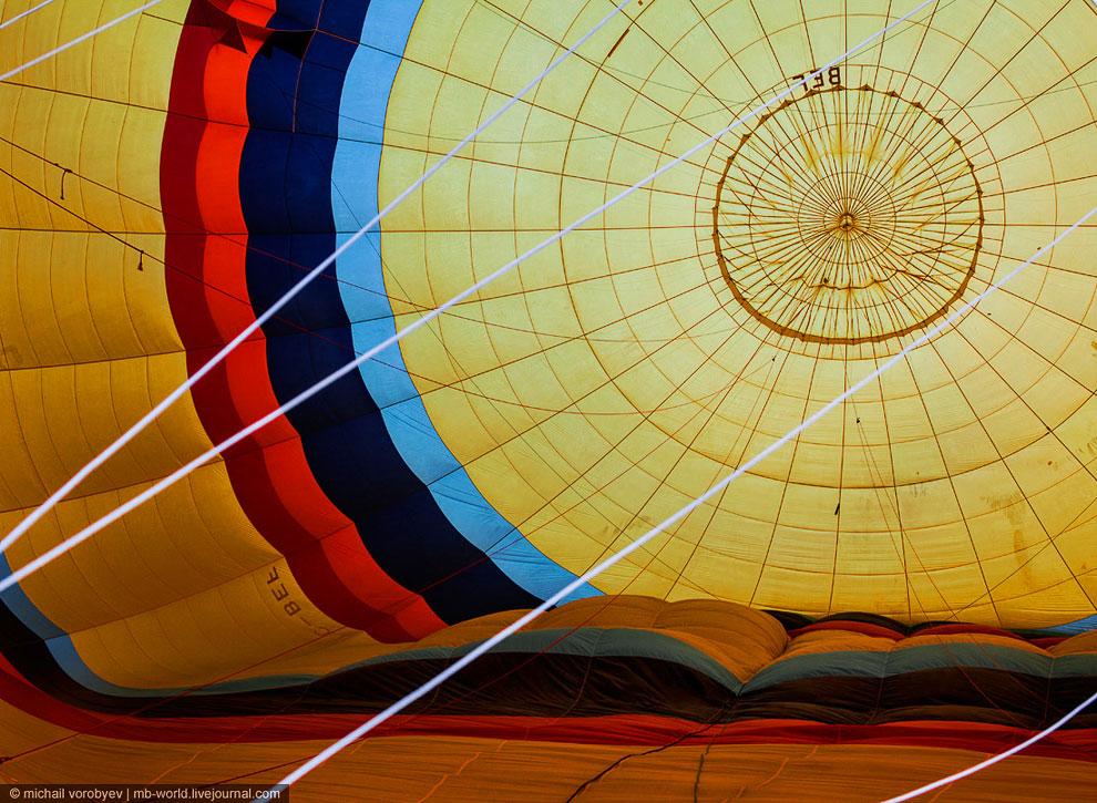 Каппадокия c высоты полета воздушного шара
