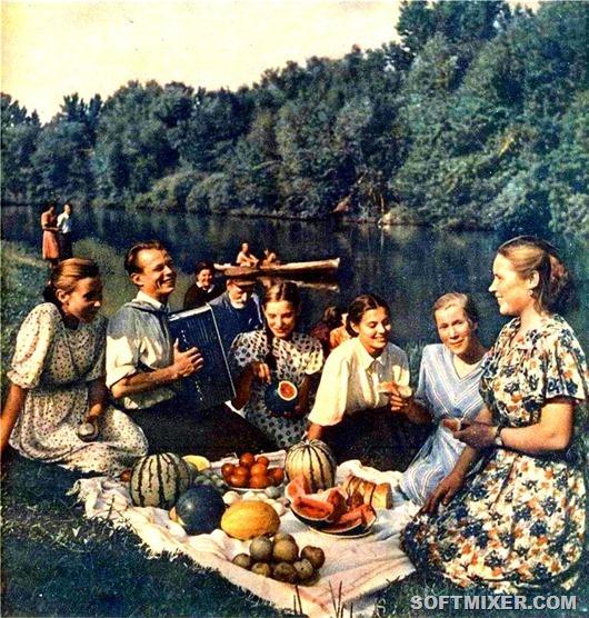 Иллюстрации из журнала Смена за 1955-1960 гг.
