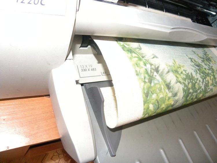 Вы заинтересовались вышивкой лентами и не знаете как сделать принт!