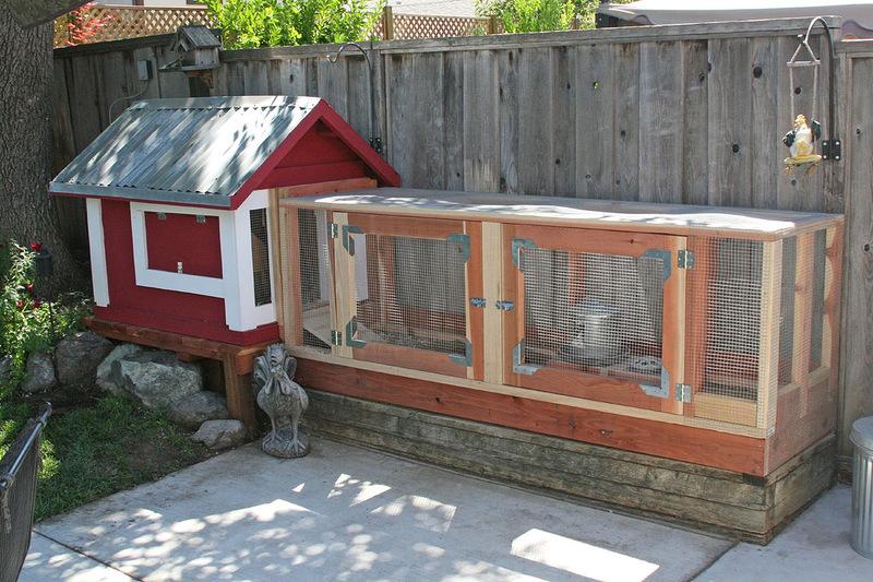 Дом курица своими руками