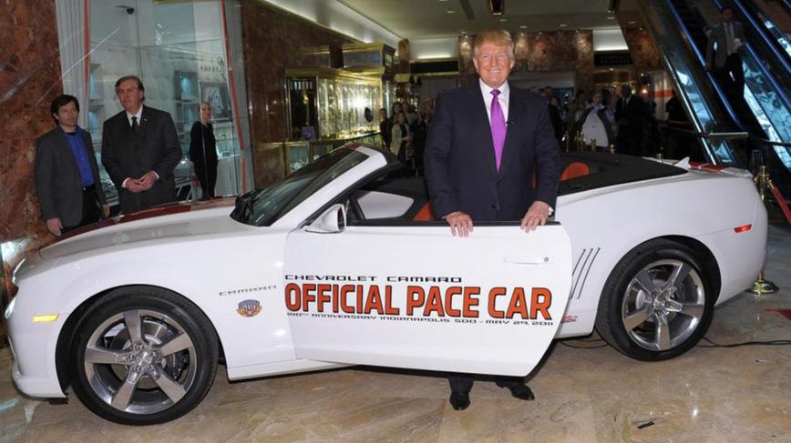 5 крутых автомобилей из автопарка нового президента США Дональда Трампа