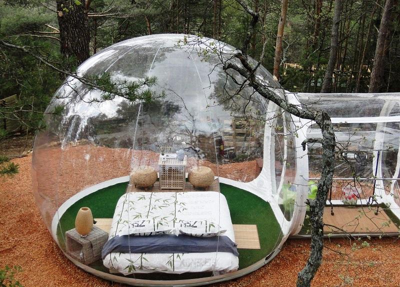 «Ловец снов»: необыкновенный прозрачный отель