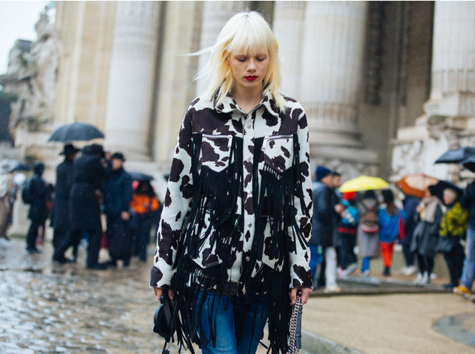 Коровий принт – новый модный конкурент «леопарда» и «зебры»