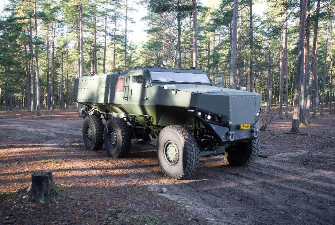 Финская армия закупит четыре бронированные машины PMPV