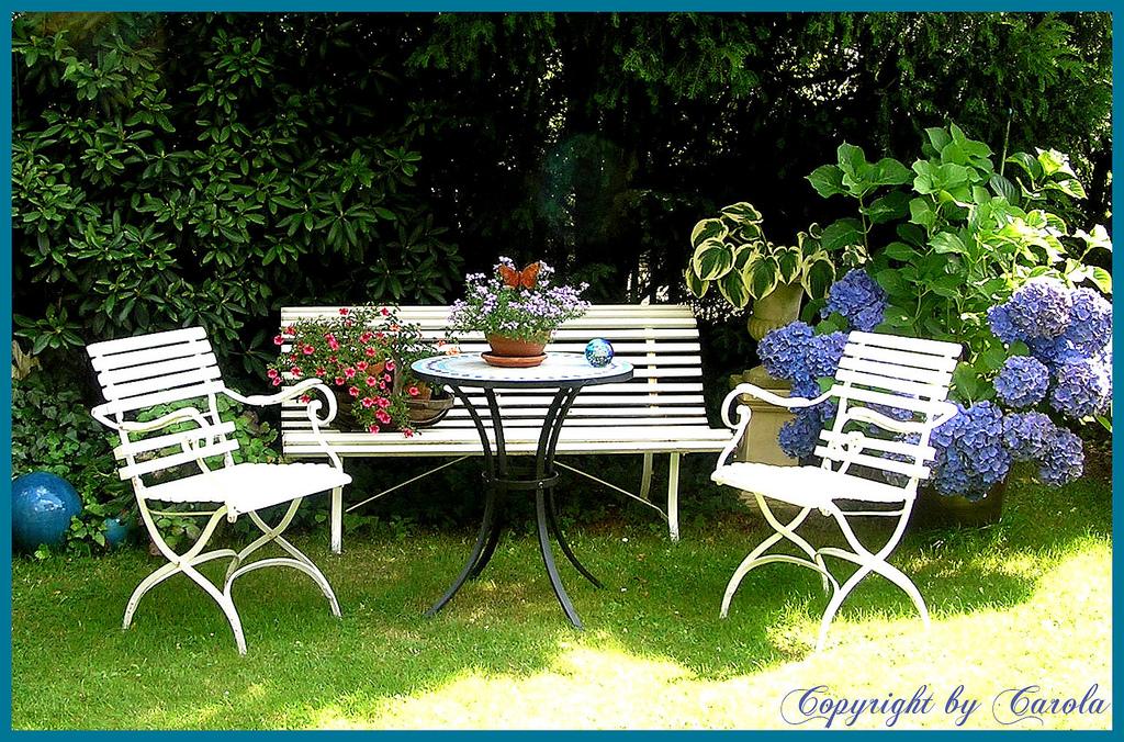 Уютные уголки в саду своими руками фото 37