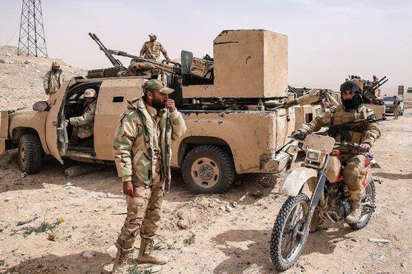 Сирийская армия близка к уничтожению очень подозрительной группировки