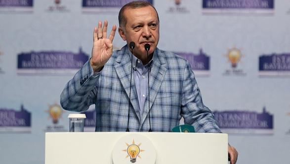 Эрдоган обвинил США иНАТО вподдержке террористов