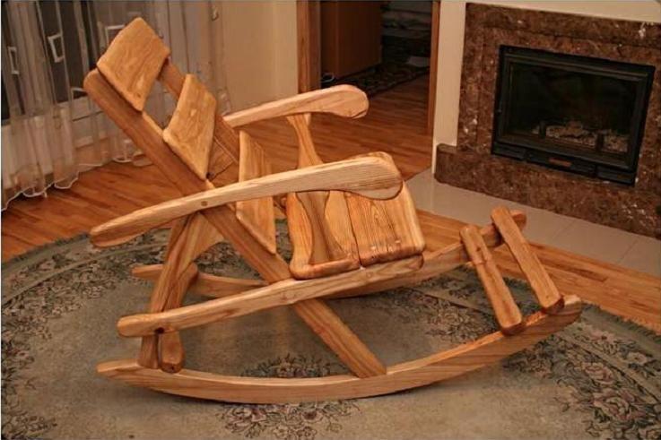 Самодельное кресло -качалка