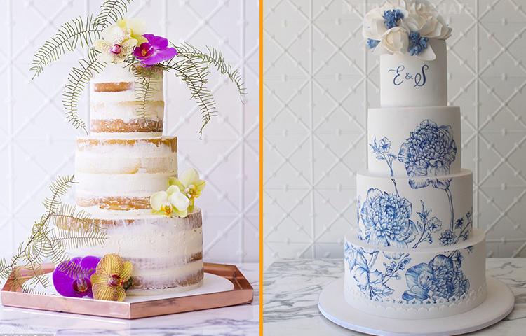 Вот какой дизайн свадебных тортов будет востребован этой зимой