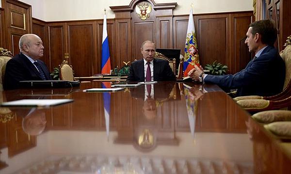 Путин призвал Нарышкина на новой должности сосредоточиться на борьбе с терроризмом