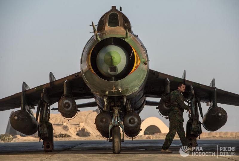 Минобороны назвало атаку США на сирийский Су-22 военной агрессией