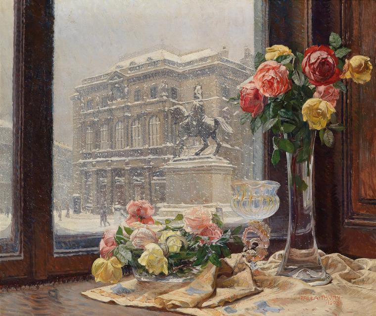 Окна в живописи