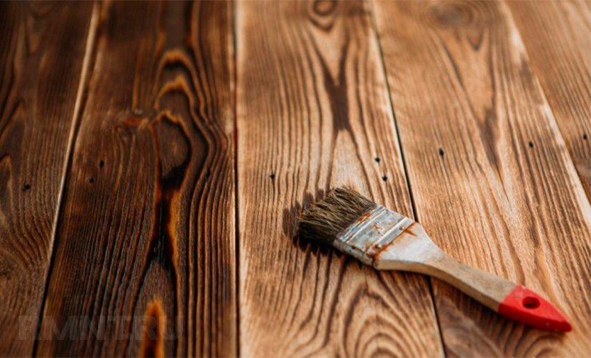 Как сделать деревянный фон у