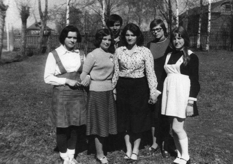 Выпускники Сеготской средней школы 1978 года.