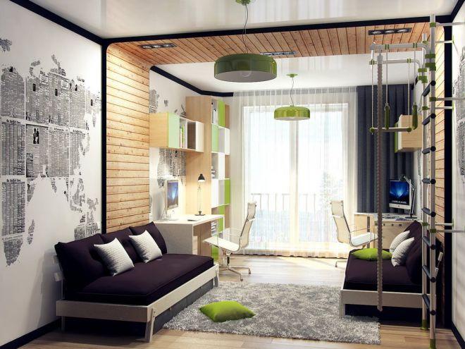 Как оформить комнату для мальчика и девочки