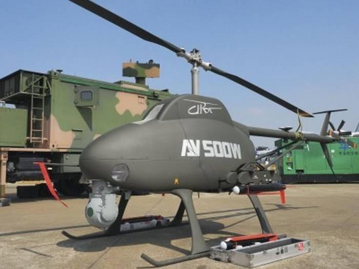 Китай объявил о начале выпуска беспилотного автономного вертолета AV500W