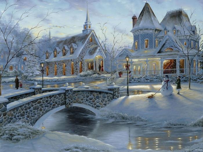 Сказочная зима. Финляндия.