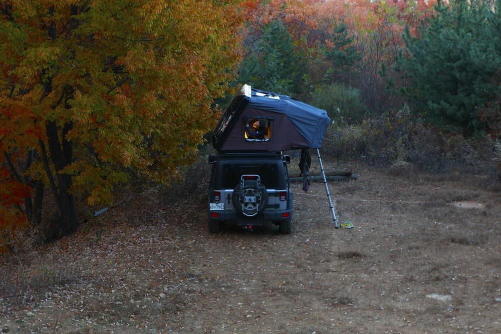 Появилась новая палатка для установки на автомобиль