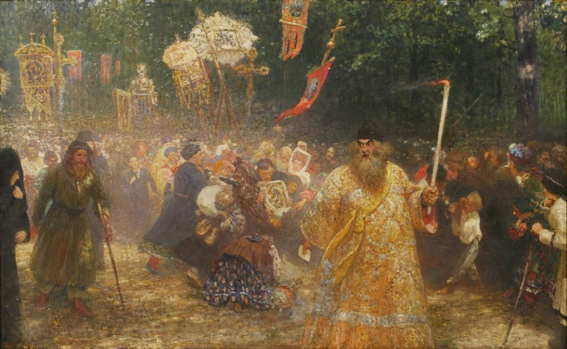 Куда делась куча картин Репина и других русских художников