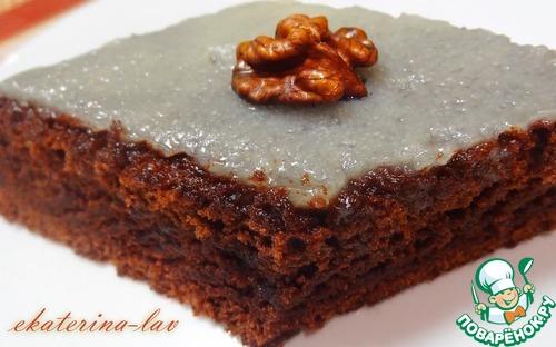 Шоколадный пирог без яиц на воде