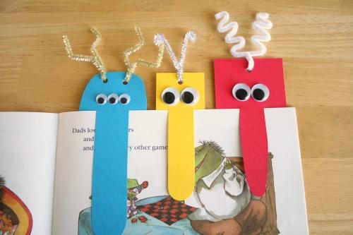 Детские закладки для книг своими руками - Septikblog.ru