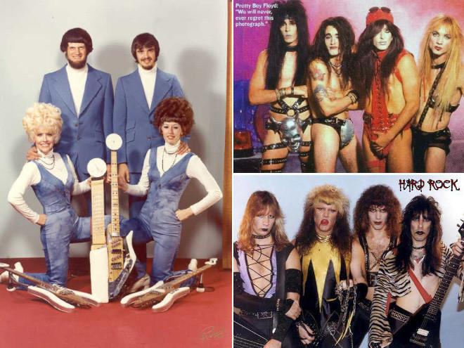 80-е года ХХ века выдались тяжелыми для стилистов рок-музыкантов! Чумовой антураж в подборке фото