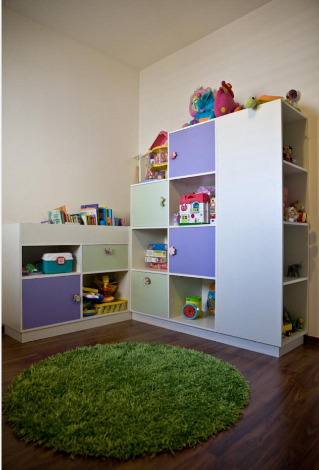 Системы хранения для детской
