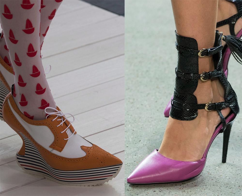 Женские туфли весна-лето