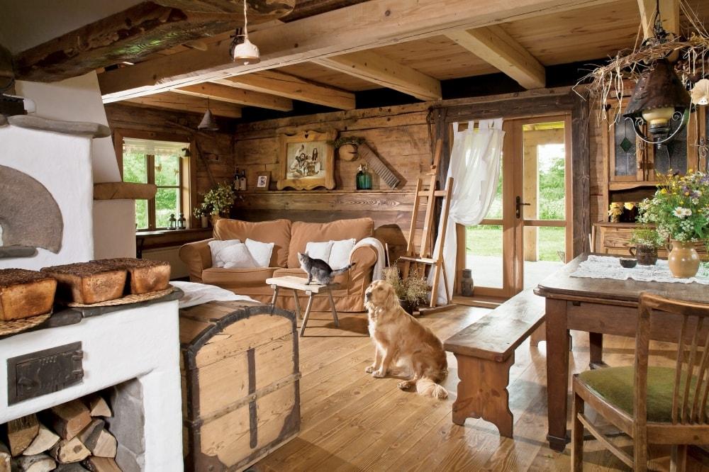 Фото дизайна дома по деревенски