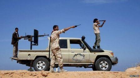 Ливийские боевики взяли взаложники членов миссии ООН
