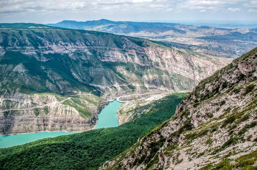 Дагестан: доехать до воды